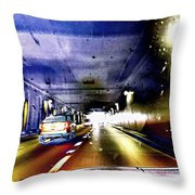 Lax Tunnel Throw Pillow