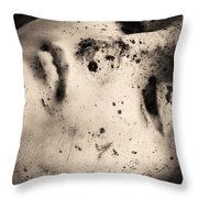 Lay Down With Sins  Throw Pillow