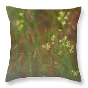 Lay In The Meadow Throw Pillow