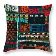 Lay It Between The Lines  Throw Pillow