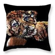 Lay Your Troubles On My Shoulder Put Your Worries In My Pocket  Throw Pillow