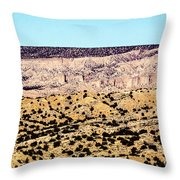 Layered Land Throw Pillow