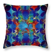 Layers Of Color 3 Throw Pillow