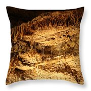 Layers Of Time - Cave Throw Pillow