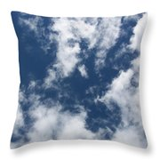 Laying Around Looking Up Throw Pillow