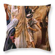 Lazarus, Come Forth Throw Pillow