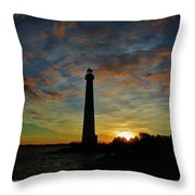 Old Barney At Dawn Throw Pillow