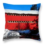 Le Boise Du Pont-rouge ... Throw Pillow