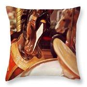 Le Carrousel Throw Pillow