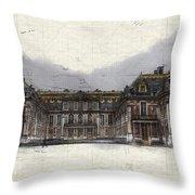 Le Chateau De Versailles Throw Pillow