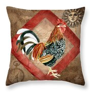 Le Coq - Greet The Day Throw Pillow