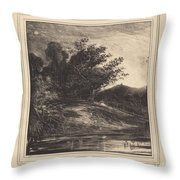 Le Cr?puscule Throw Pillow