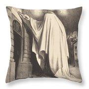 Le Fantome Throw Pillow