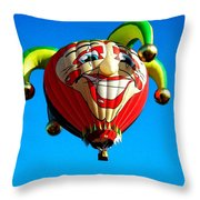 Le Fou Du Roi Throw Pillow