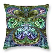 Le Jardin Secret Throw Pillow