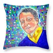 Le Maitre Geoff Pimlott Throw Pillow