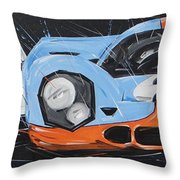 Le Mans Porsche 917 Throw Pillow