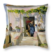 Le Mazet Throw Pillow