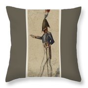 Le Militaire Throw Pillow