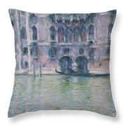 Le Palais Da Mula Throw Pillow