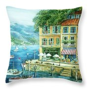 Le Port Throw Pillow