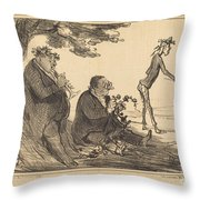 Le Retour De L'age D'or Throw Pillow