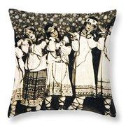 Le Sacre Du Printemps Throw Pillow