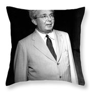 Le� Szil�rd, Hungarian-american Throw Pillow