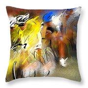 Le Tour De France 05 Throw Pillow
