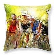 Le Tour De France 07 Throw Pillow