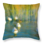 Lead Me Gently Home Throw Pillow