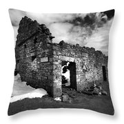 Lead Mines Throw Pillow