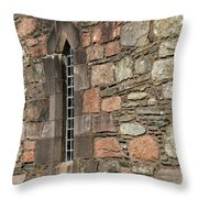 Leaded Nunnery Window Throw Pillow