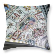 Leading To The Sistine Chapel Throw Pillow