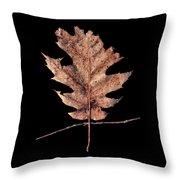 Leaf 22 Throw Pillow