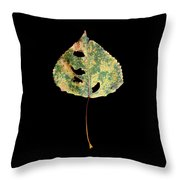 Leaf 25 Throw Pillow