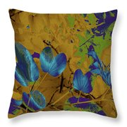 Leaf And Flower 10 Throw Pillow