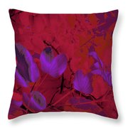 Leaf And Flower 9 Throw Pillow