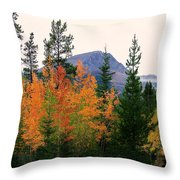 Leaf Embrace Throw Pillow