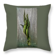 Leaf Entwined Throw Pillow