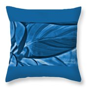 Leaf Of Plant Throw Pillow
