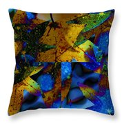 Leaf Peeping Throw Pillow