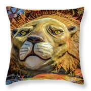 Leaf Pride Throw Pillow