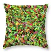 Leaf Riot - Throw Pillow