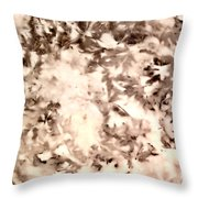 Leaf Stains Throw Pillow