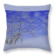 Leafless Throw Pillow
