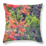 Leafs 008 Throw Pillow