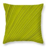 Leafy Leaf Throw Pillow