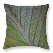 Leafy Texture Throw Pillow