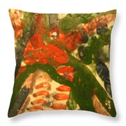 Lean Over - Tile Throw Pillow